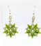SuperDuo Star Earrings Bead Pack - Gold and Red